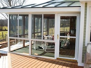 Take Your Screen Porch To Another Level With Removable Storm Panels Or New Operable Windows Providing Both Ventilation And Weather Protection